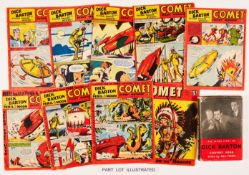 Comet (1953) 247-254, 256-273. All with Dick Barton illustrated stories. With The Inside Story of