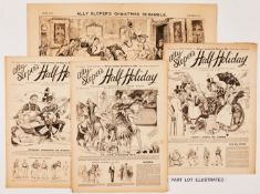 Ally Sloper's Half-Holiday (1894) 506-557 (missing issues 548, 549) and including Ally Sloper's