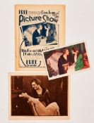 Picture Show No 442 (1927) with free gift supplement and colour card of Don Juan, The Story of the