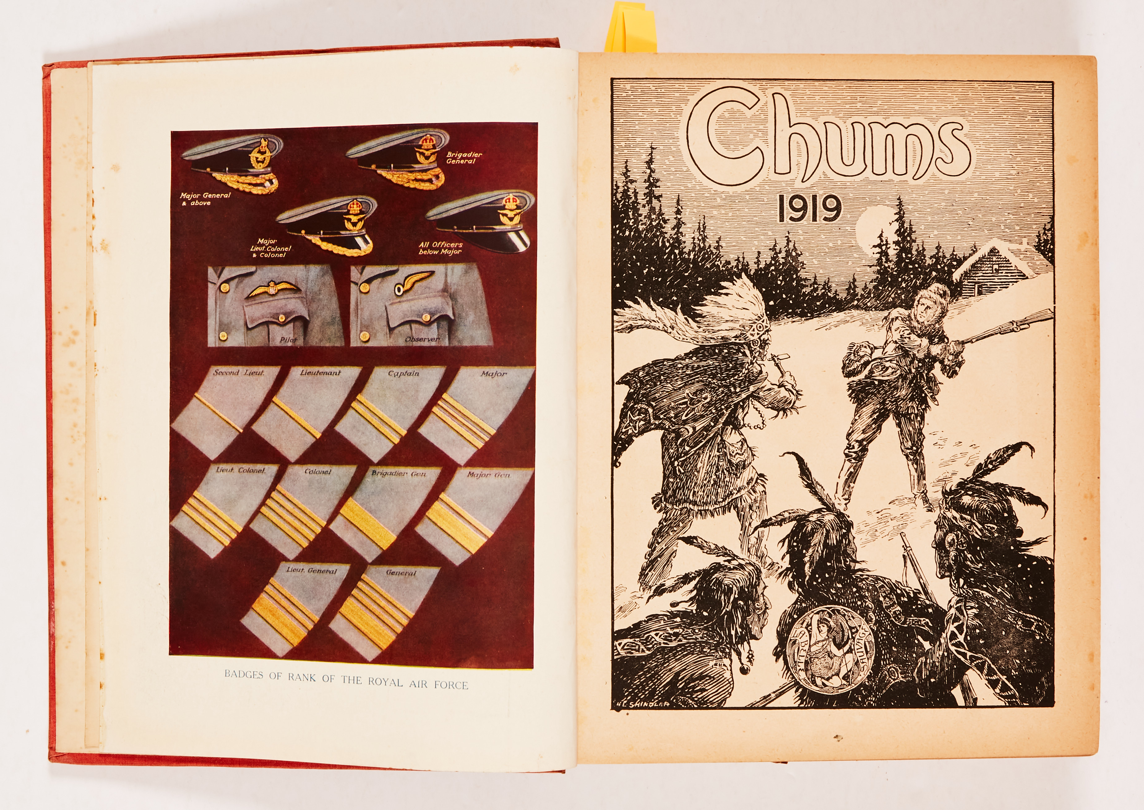 Chums (1918-19) 1357-1409. Propaganda WWI issues. Starring Jack Overton - Flying Detective, - Image 2 of 5
