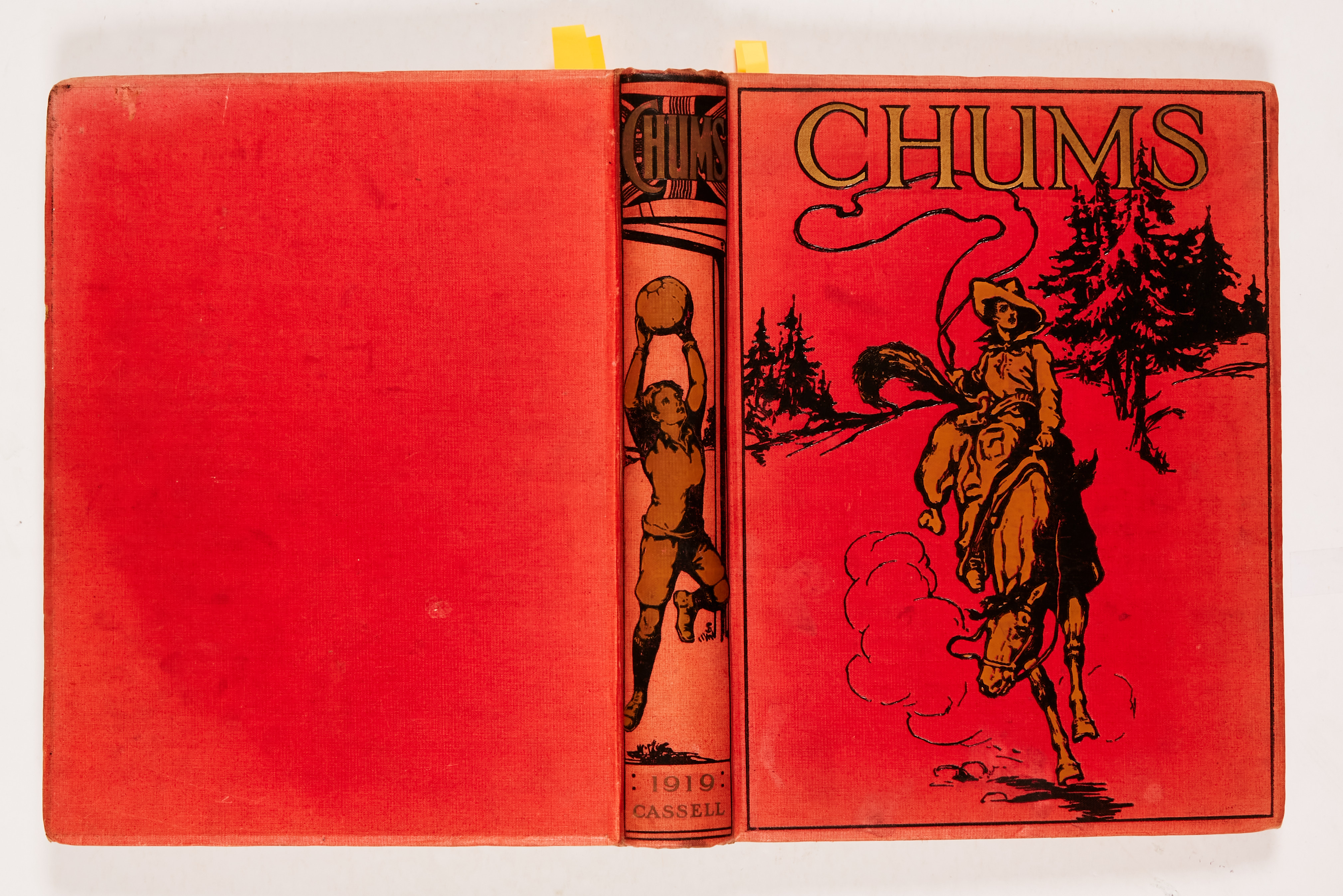 Chums (1918-19) 1357-1409. Propaganda WWI issues. Starring Jack Overton - Flying Detective,