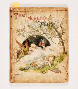 "The Nursery ""Alice"" (1890 MacMillan and Co). Second edition containing 20 coloured enlargements from"