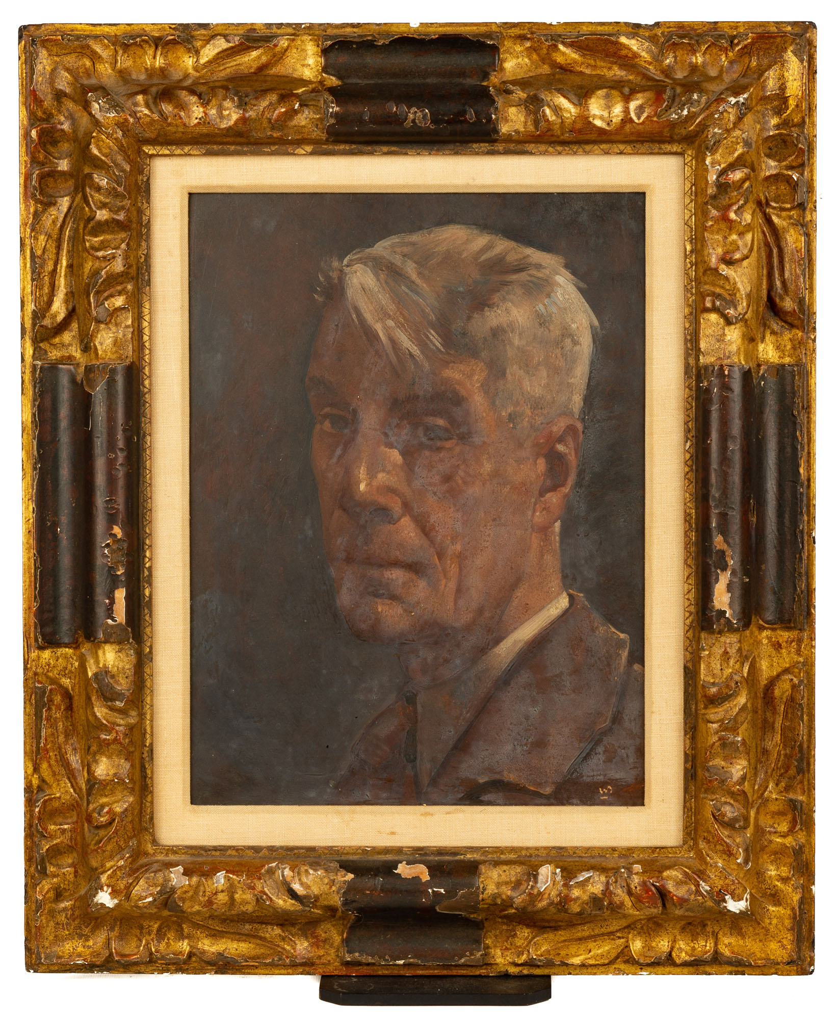 Lot 120 - Willem Van Den Berg (Dutch, 1886-1970) Self Portrait
