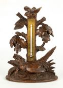 Carved Black Forest Thermometer