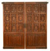 Quarter Sawn Oak Doors