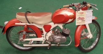 Gimson 65 Sport 65cc rare Spanish motorcycle. Never Introduced into Great Britain. Matching serial
