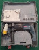 Bosch SDS-Plus GBH 2-20 SRE hammer drill in case (WP34).
