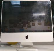 "Apple iMac computer 20"" screen size (WP42)."