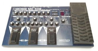 Boss ME-50B Multiple effects pedal (REF WP26).