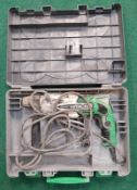 Hitachi DH 24PC3 Rotary Hammer drill in case (REF WP25).