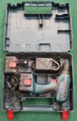 Bosch GSR 14.4-2 Professional power drill in case with two batteries and charging station. REF WP13