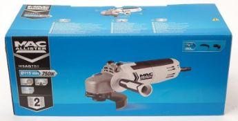 Mac Allister MSAG750 750W angle grinder in box (REF WP15).