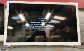 Samsung ue32h4510ak colour TV 32in screen. REF wp4