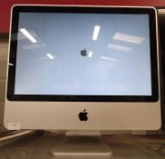 Apple iMac 20-in computer. REF wp5