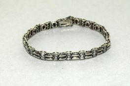 Silver & CZ Bracelet