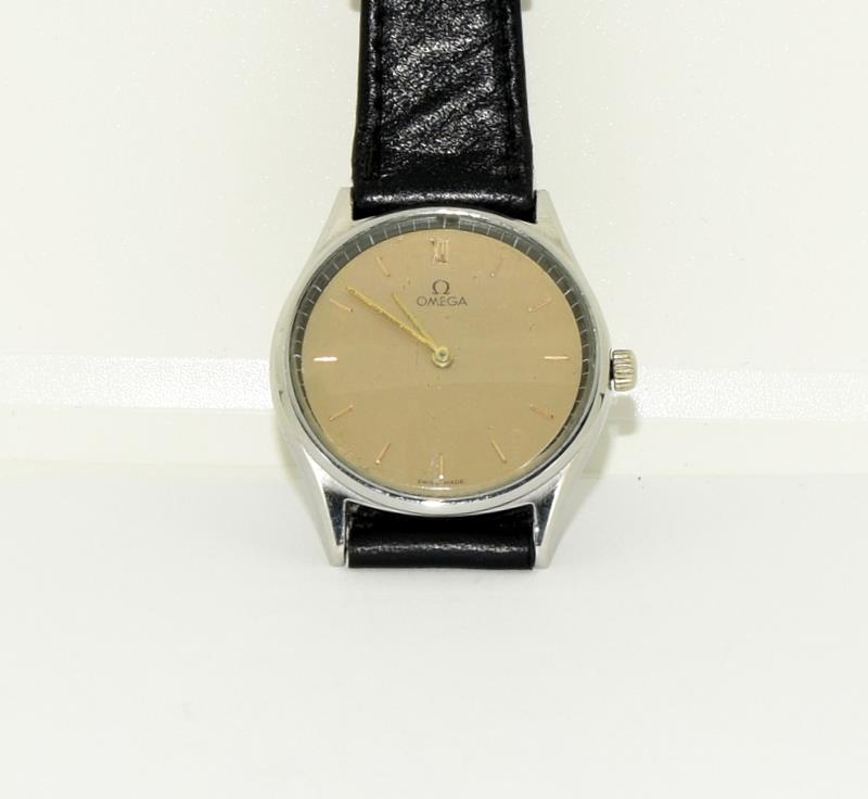 Stainless Steel Vintage Omega Manual Wind CAL G25 Watch - Image 8 of 8