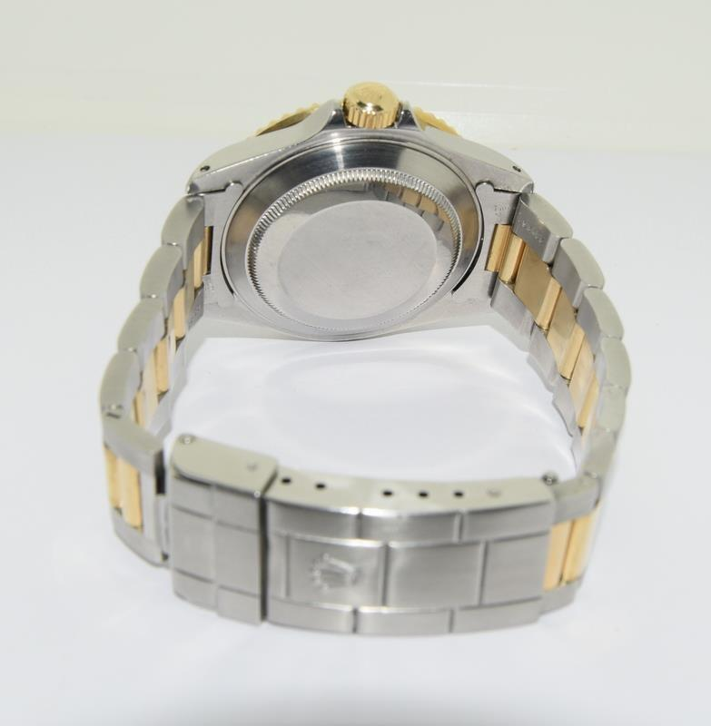 Rolex Submariner Bi Metal wristwatch. Model.no 16613 approximate year 1994 or 5588### end link no - Image 5 of 9