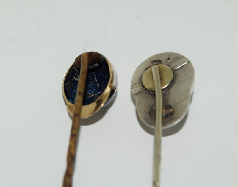 A collection of stickpins to include, 2 jockey caps. (NI007) - Image 3 of 4