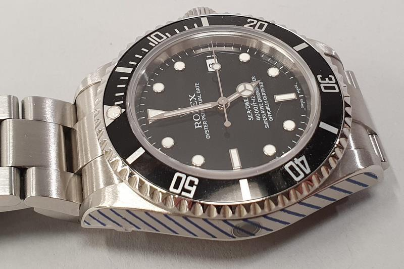 Rolex Sea-Dweller Watch 16600, box & papers, dated 2006. - Image 3 of 11
