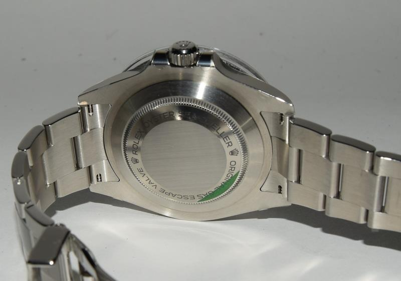 Rolex Anniversary single Red Sea-Dweller Wristwatch, boxed. - Image 3 of 7