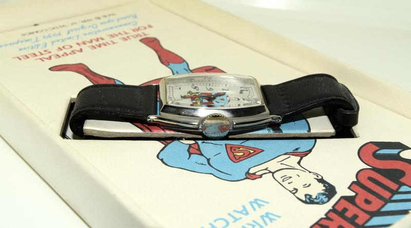 Superman Limited Edition wristwatch (based on the original 1939) by DC Comics. - Image 3 of 4