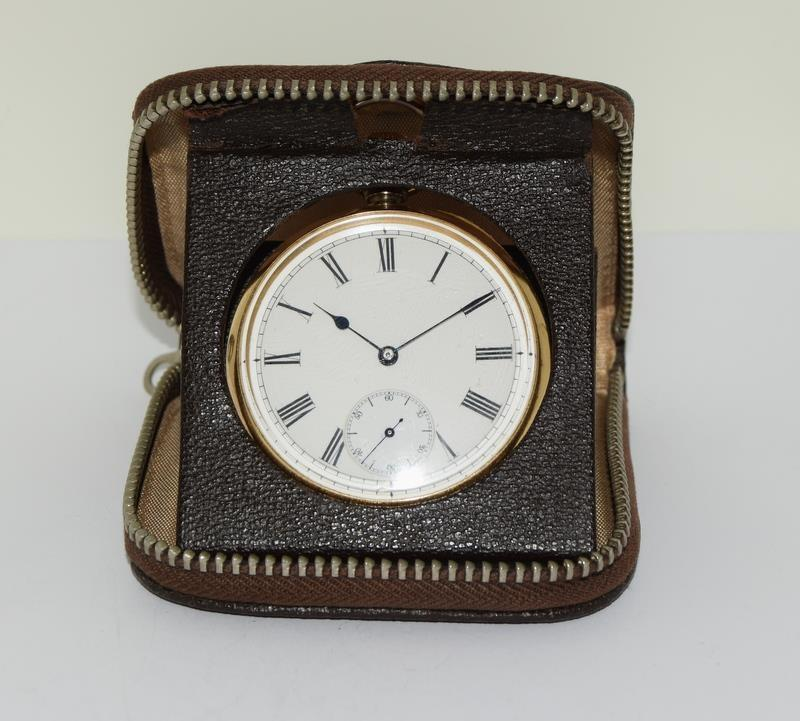 18ct Gold Full Face Pocket Watch. - Image 19 of 20