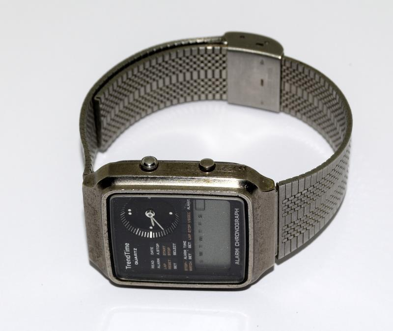 Vintage Trend Time Alarm Chronograph Watch - Image 6 of 6