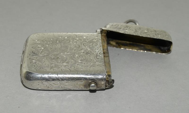 Silver Vesta Case with Fitted Match Ejector - Image 6 of 7