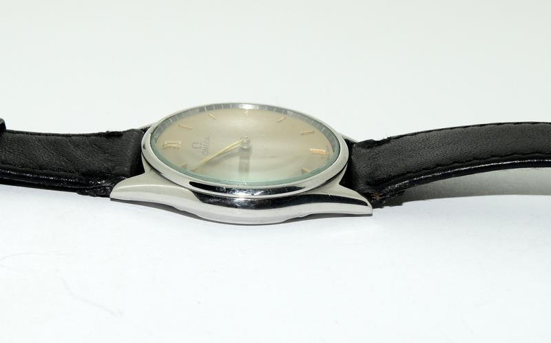 Stainless Steel Vintage Omega Manual Wind CAL G25 Watch - Image 4 of 8
