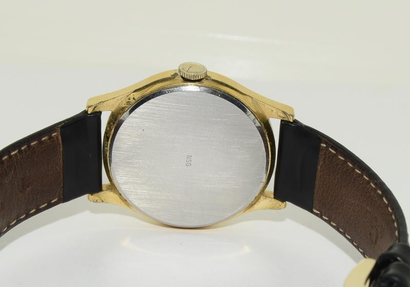 Gold Plated Vintage Omega Manual Wind Wristwatch. - Image 5 of 7