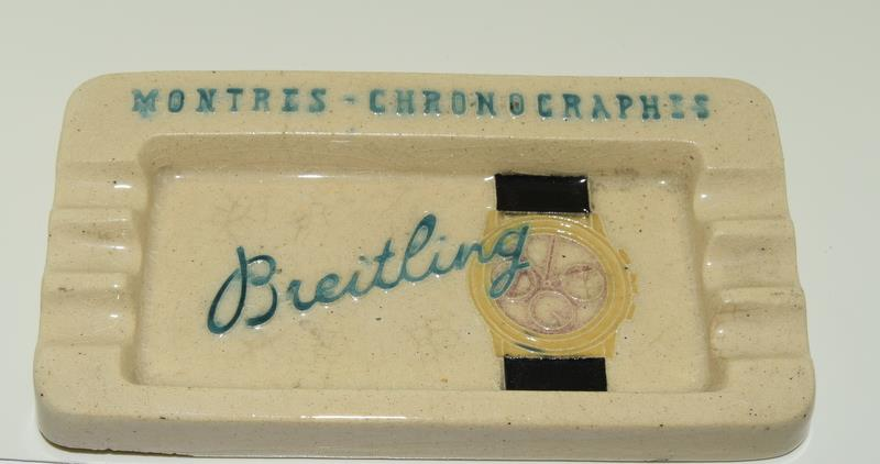 Breitling Chronographes Swiss made ceramic cigarette tray. - Image 2 of 4