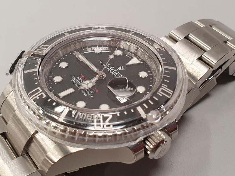 Rolex Anniversary Red Sea Dweller, boxed and papers, unworn with stickers. - Image 4 of 10