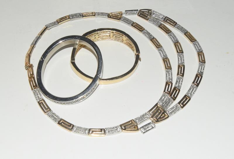 Box of jewellery includes Michael Kors, Swaroski and Ciro. - Image 2 of 2