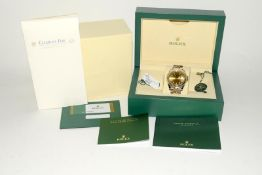 Rolex 41 Stainless Steel & Yellow Gold