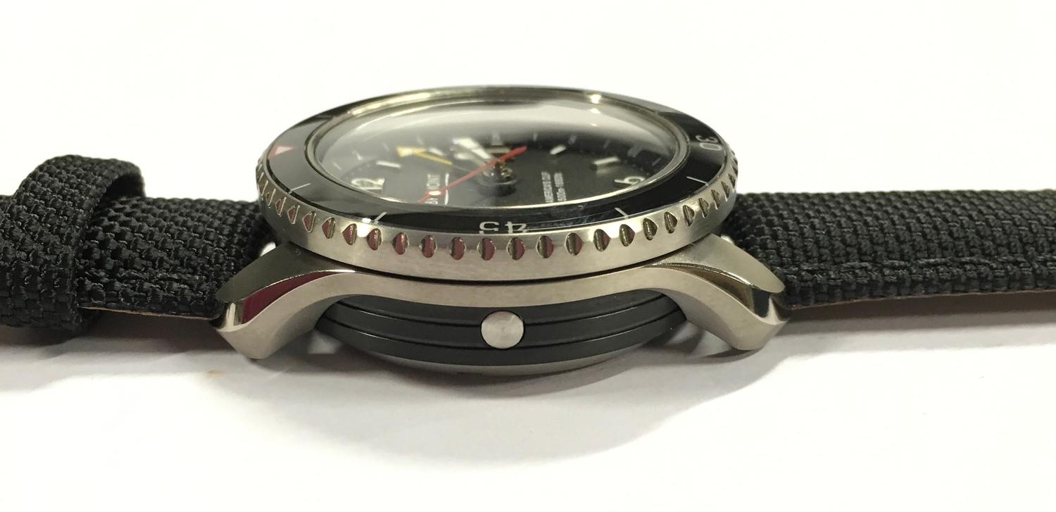Stainless Steel Bremont America's Cup Watch, as new and complete, Limited Edition No 007/535. - Image 8 of 10
