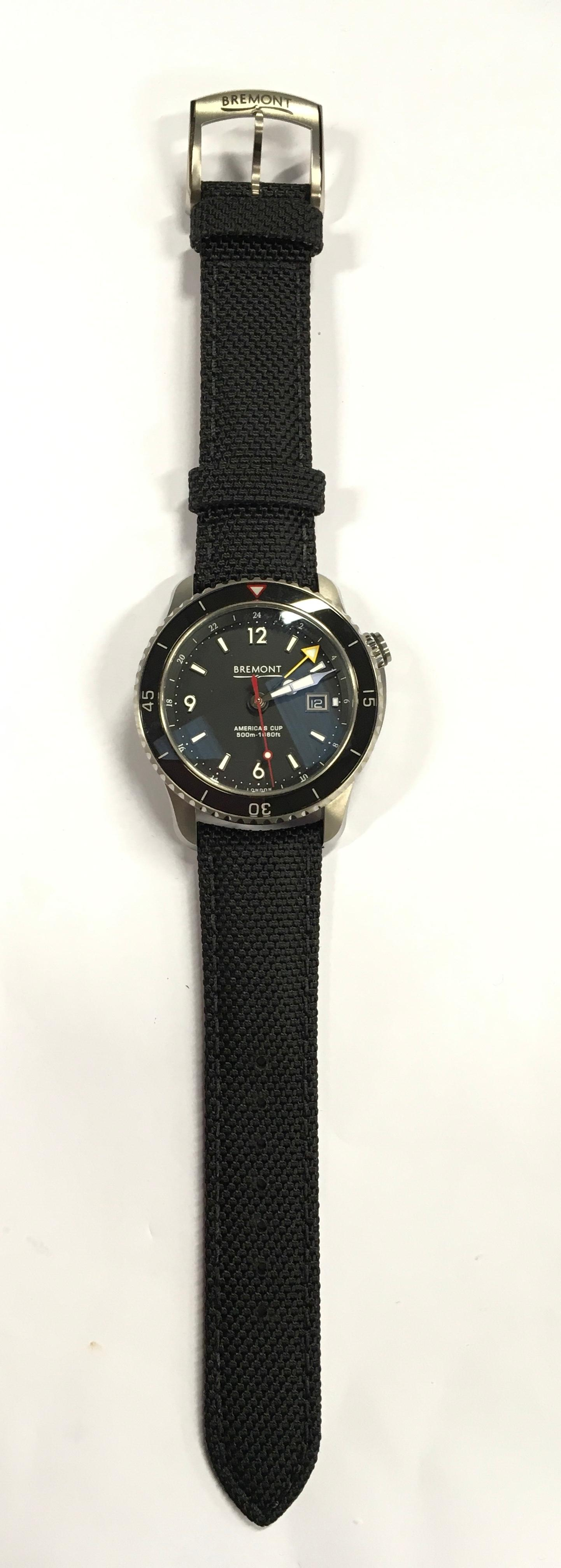 Stainless Steel Bremont America's Cup Watch, as new and complete, Limited Edition No 007/535. - Image 3 of 10