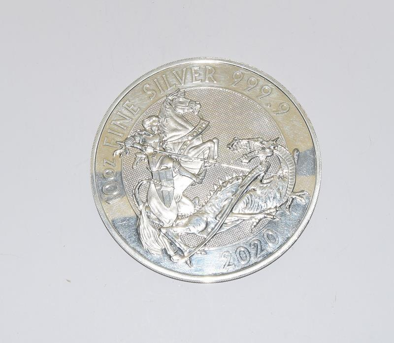 10oz Silver 999.9 Coin, Boxed - Image 5 of 12
