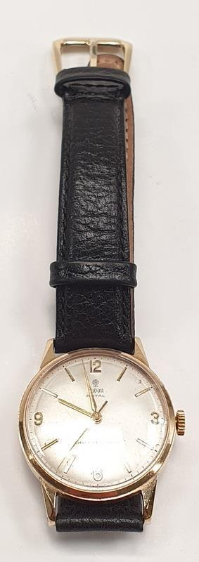9ct Gold Tudor Royal Wristwatch - 1980's.