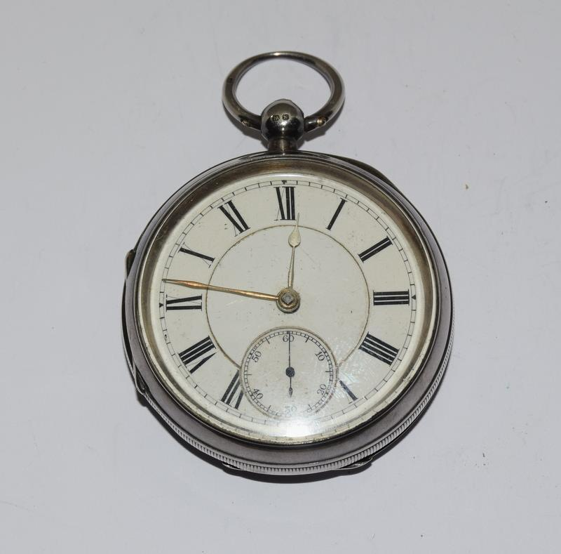 Silver Pocket Watch. - Image 2 of 12