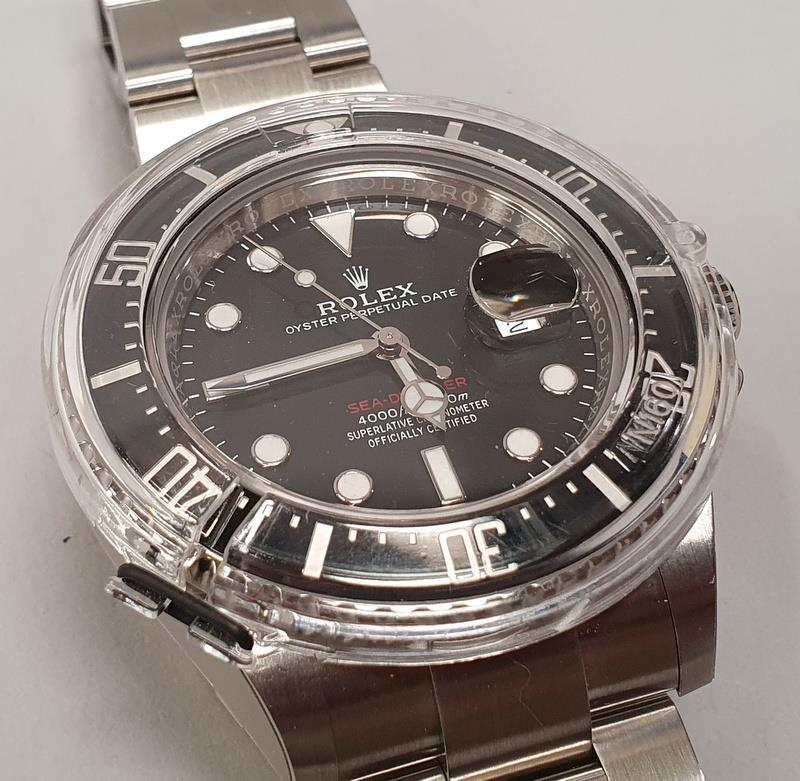 Rolex Anniversary Red Sea Dweller, boxed and papers, unworn with stickers. - Image 3 of 10