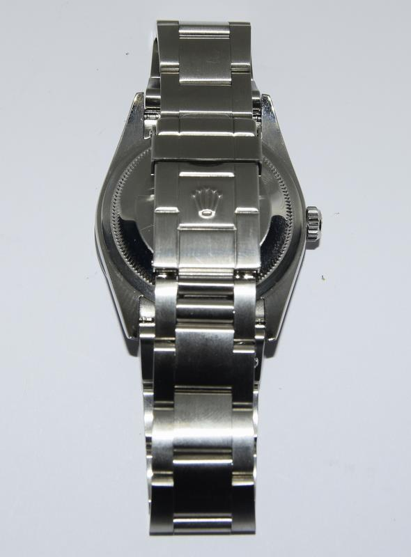 Rolex Explorer 1 Oyster watch - 36mm with bezel protector, spare link. Excellent condition, with - Image 7 of 10