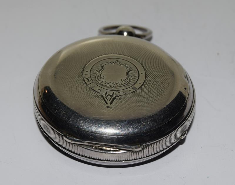Silver Pocket Watch. - Image 4 of 12