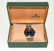 Rolex Submariner Spider Dial wristwatch. Model No.5513, boxed.