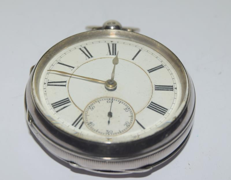 Silver Pocket Watch. - Image 11 of 12