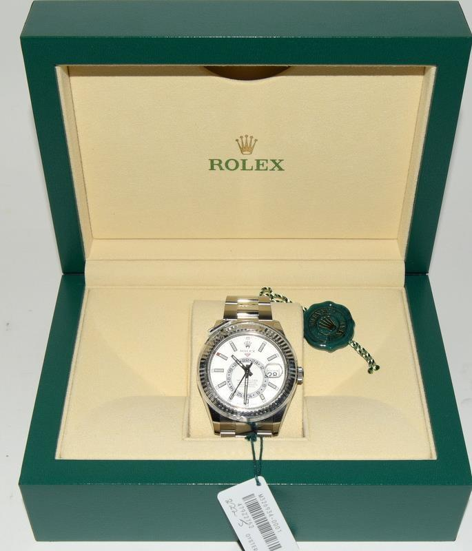 Rolex Stainless Steel Sky-Dweller Wristwatch. Model No.326934. Boxed and papers 2019. - Image 5 of 5