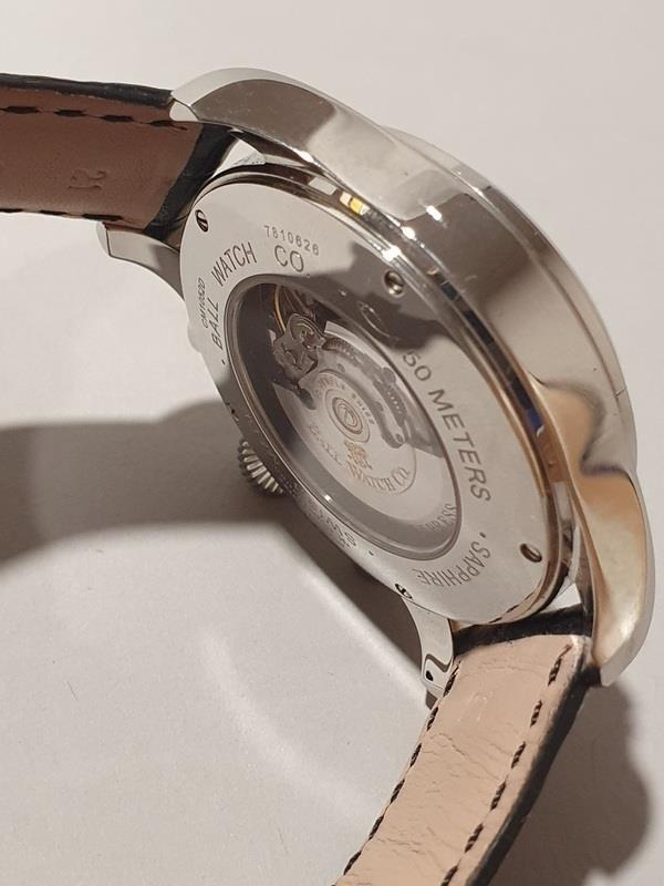 Gentleman's Automatic Chronograph Watch by Ball with box and papers. - Image 5 of 5