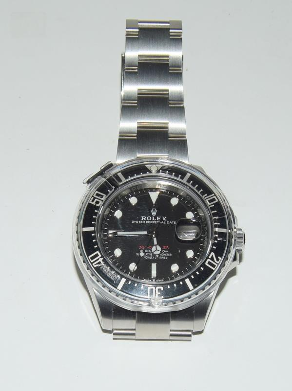 Rolex Anniversary single Red Sea-Dweller Wristwatch, boxed. - Image 6 of 7