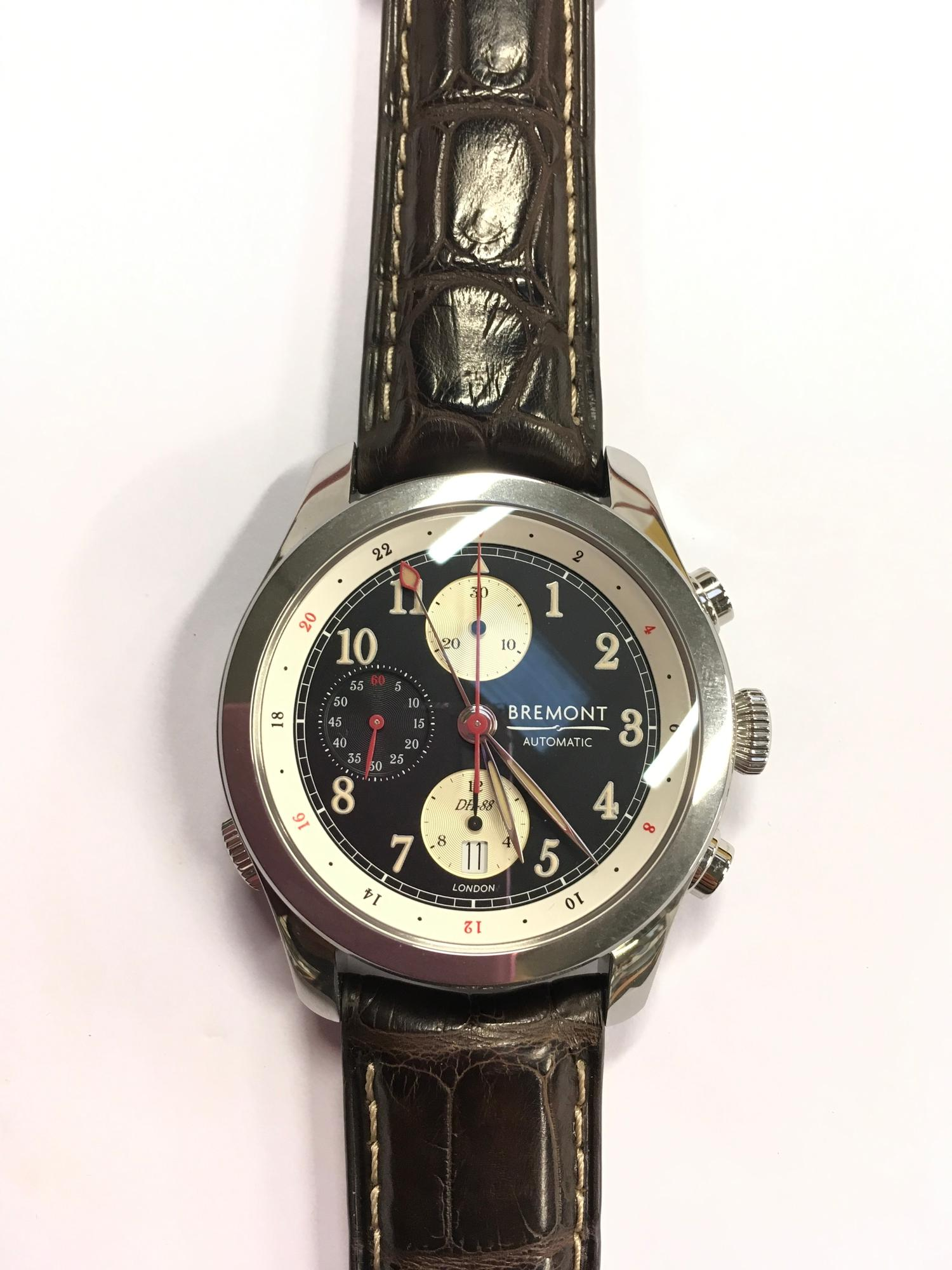 Bremont Stainless Steel gents watch, DH-88 Comet Limited Edition.