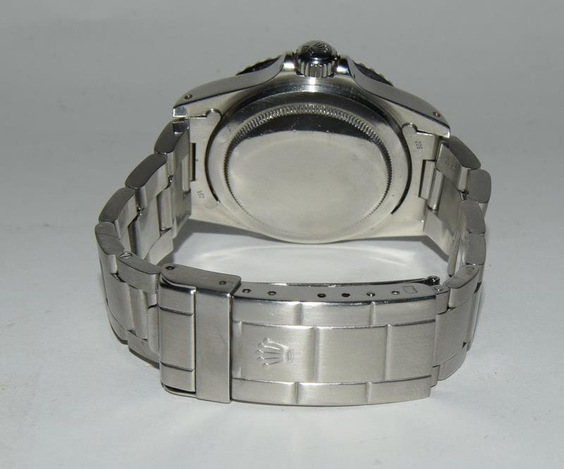 Rolex Submariner Spider Dial wristwatch. Model No.5513, boxed. - Image 3 of 8