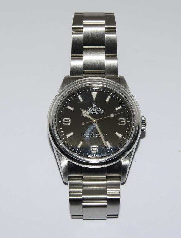 Rolex Explorer 1 Oyster watch - 36mm with bezel protector, spare link. Excellent condition, with - Image 8 of 10